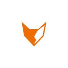 Abstract Animal Fox  Logo Vec...