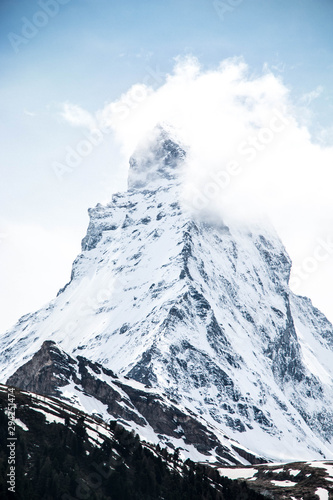 Matterhorn Switzerland Canvas Print