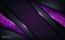 Purple Abstract Modern Futuristic Background. Dark Modern Background