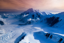Areal View Of Mount McKinley G...