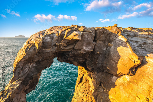 elephant rock in shenao, taipei, taiwan