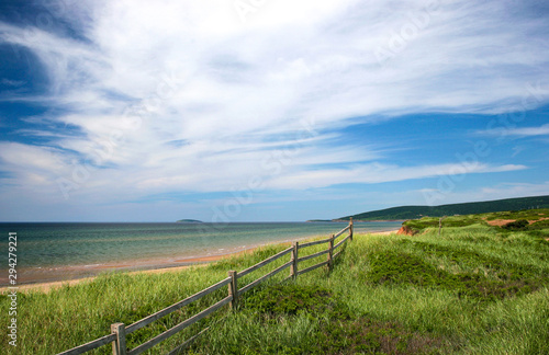 Canvas-taulu Cape Breton Island Nova Scotia beach