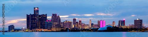 Obraz The City of Detroit - fototapety do salonu