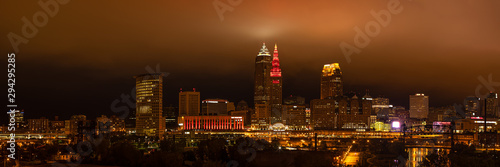 Fototapeta The City of Cleveland