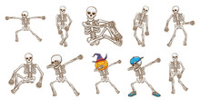 Skeleton Vector Set Clipart D...