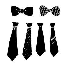 Silhouette Tie Design