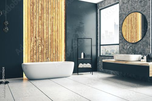 Fototapeta Stylish bathroom interior obraz