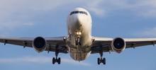 Passenger Jet Coming In To Lan...
