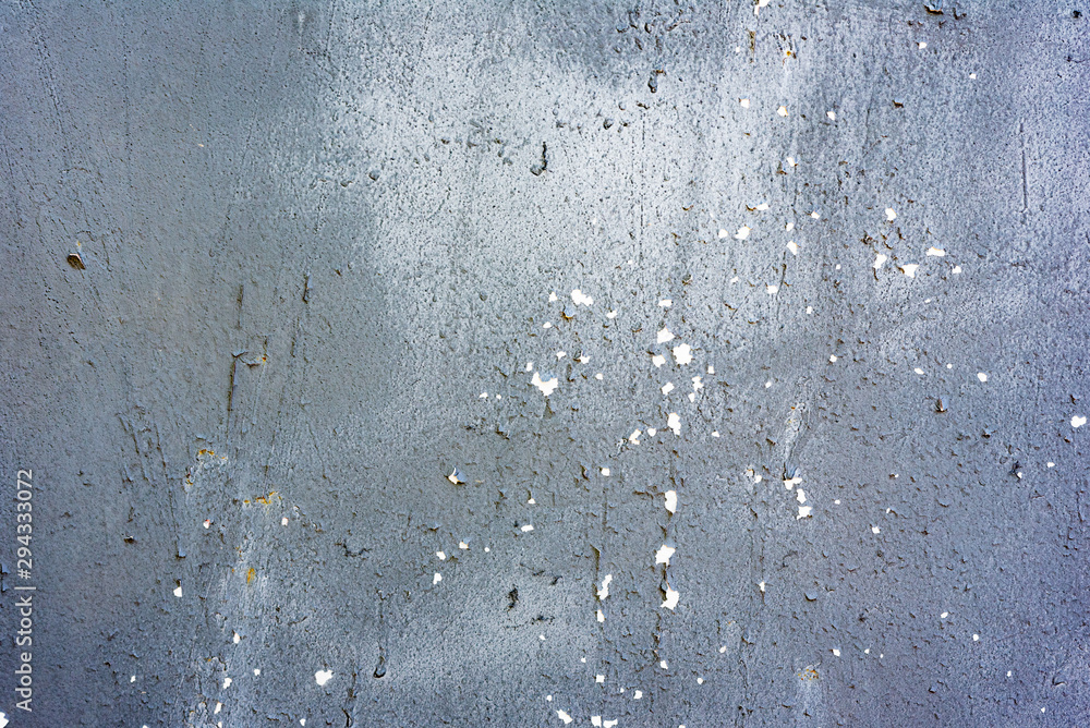 Fototapeta Metal texture with scratches and cracks which can be used as a background