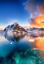 Beautiful Sunrise In Norway - ...