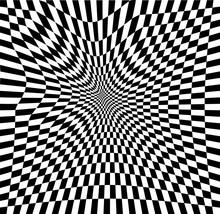 Checkered Background Design, C...