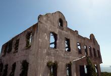 Alcatraz Warden House Ruins 2 ...