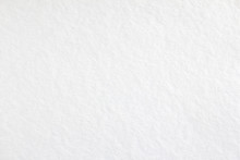White Blank Sheet Of Drawing Paper With Rough Surface Texture Background.