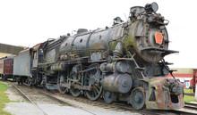 Rusting American Steam Locomot...