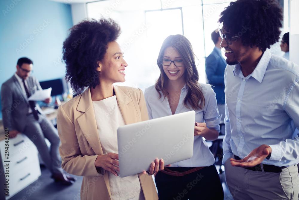 Fototapeta Meeting Corporate Success Business Brainstorming Teamwork Concept