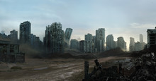 Future Ruined City
