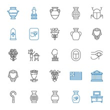 Vase Icons Set