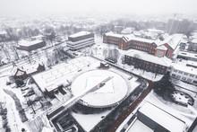 Heli Pad / Snow Lanndscape