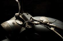 Vieille Moto Vintage Rétro Av...