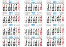 Calendario 2020 Santoral