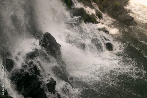 Foto auf Leinwand Wasserfalle Iguazu Falls, a magnificent waterfall located In Brazil and Argentina