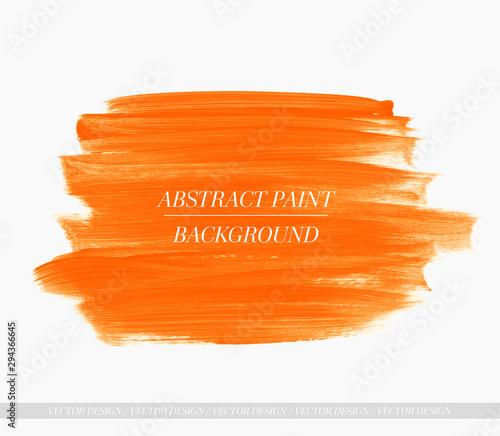 Fototapeta Brush paint stroke acrylic background