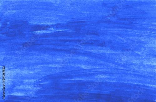 Handgemalter blauer Pinsel Hintergrund
