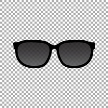 Sun Glasses Icon. Sunglasses V...