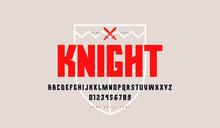 Decorative Geometric Sans Serif Font