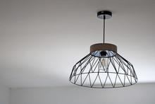 Lampe Scandinave, Metal Et Boi...