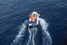 Rescue Service Swims Quickly O...