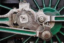 Dampflokomotive Gestänge Räd...