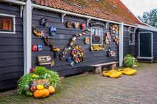Pumpkins In A Cart