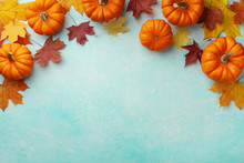 Autumn Thanksgiving Background...