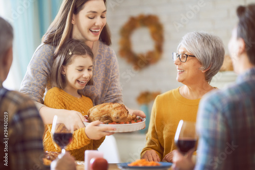 Poster Individuel Happy Thanksgiving Day