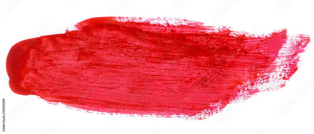 Fototapeta Red brush texture