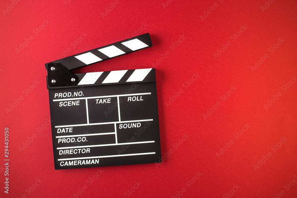 Fototapety, obrazy: Movie clapper board