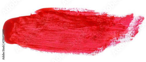 Fototapety, obrazy: Red brush texture