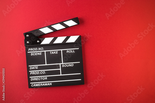 Canvas Print Movie clapper board