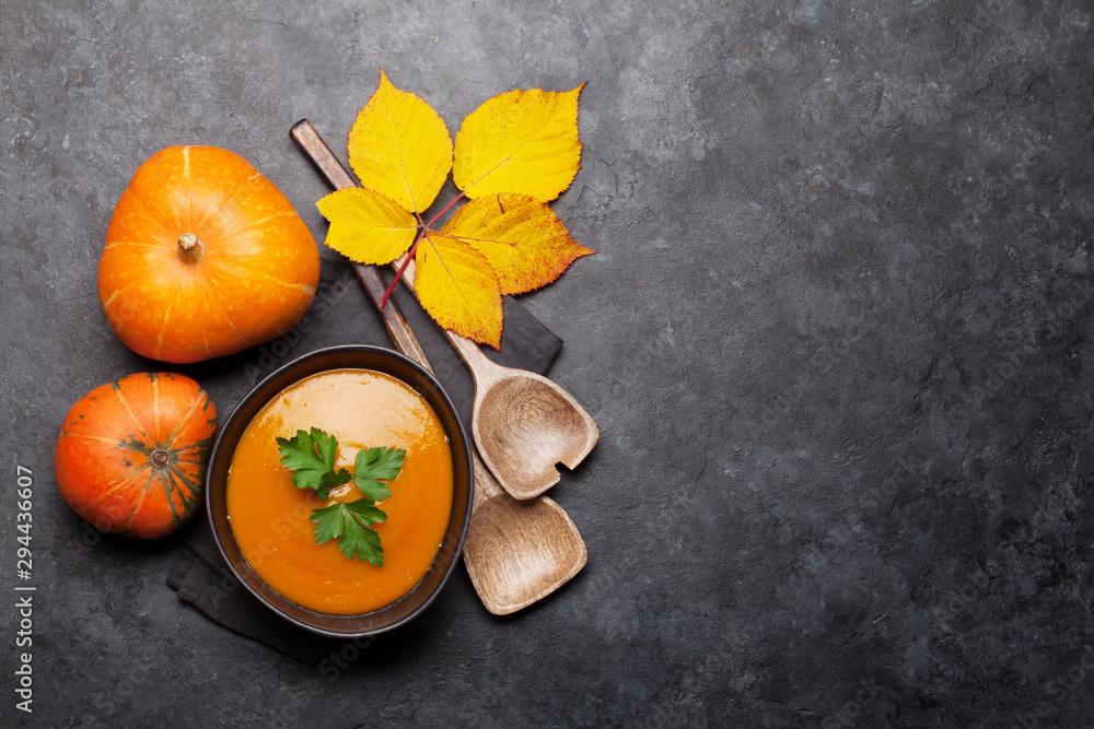 Fototapety, obrazy: Pumpkin soup