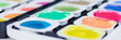 canvas print picture - bunte Wasserfarben