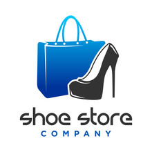 Logo Design Shoes And Women's Handbag Shop