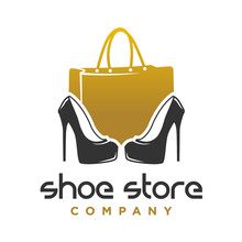 Logo Design Shoes And Women's ...