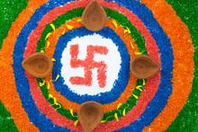 Indian Festival Diwali, Diya O...