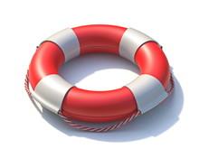 Lifeguard Lifebuoy 3D