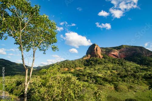 Landscape near Samaipata in Bolivia Wallpaper Mural