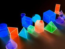 Colorful Luminescent Geometric...