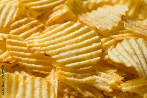 Fotografía  Organic Salted Wavy Potato Chips