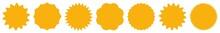 Label Orange | Badge Icon | Price Tag | Sticker | Logo Variations
