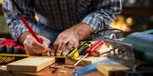 Adult Carpenter Craftsman With...